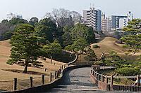 The 17th century Suizen-ji garden is an oasis within the modern city of Kumamoto, Japan