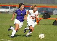 Girls JV Soccer vs. Hamilton Heights 9-24-08