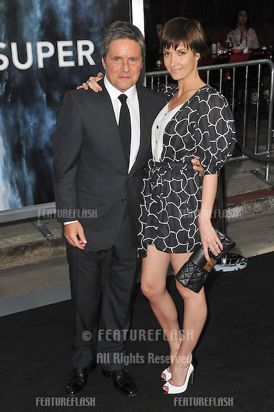 """Brad Grey & wife at the Los Angeles premiere of """"Super 8"""" at the Regency Village Theatre, Westwood..June 8, 2011  Los Angeles, CA.Picture: Paul Smith / Featureflash"""