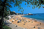 Praia do Porto da Barra em Salvador, Bahia. 2001. Foto de Juca Martins.