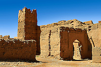 Kasbah in a ruined Ksar in the Ziz Gorge, Morocco
