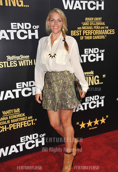"Busy Phillips at the premiere of ""End of Watch"" at the Regal Cinemas LA Live..September 17, 2012  Los Angeles, CA.Picture: Paul Smith / Featureflash"