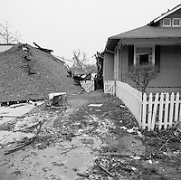 Destroyed homes in New Orleans - Lakeview, photographed February 22, 2006