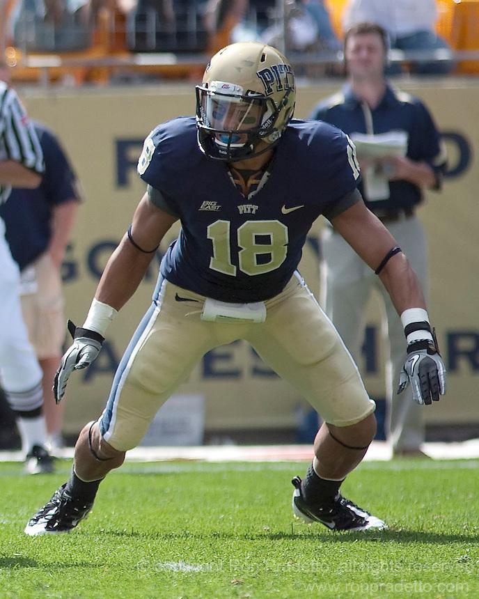 Pitt defensive back Antwuan Reed | Ron Pradetto Photography