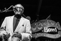 James Alexander performs at the Ponderosa Stomp in New Orleans on October 3, 2015.