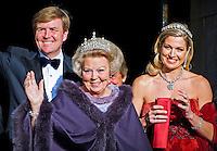 Queen Beatrix Of The Netherlands Farewell Dinner