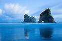 Archway Islands at dawn, South Island, New Zealand