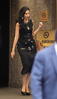 NEW YORK, NY-September 16: Huma Abedin at the Tonight Show starring Jimmy Fallon in New York. September 16, 2016. Credit:RW/MediaPunch
