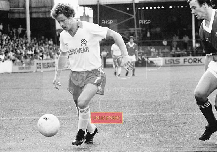 16/08/80 Swindon Town v Blackpool League Divsion 3.....© Phill Heywood.