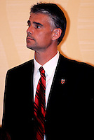 DC United goalkeeper Pat Onstad, at the 2011 Season Kick off Luncheon, at the Marriott Hotel in Washington DC, Wednesday March 16 2011.