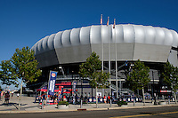 Harrison, NJ - Wednesday Aug. 03, 2016: Red Bull Arena during a CONCACAF Champions League match between the New York Red Bulls and Antigua at Red Bull Arena.