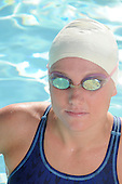 Competition Woman Swimmer