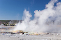 Clypsydra Geyser in the Lower Geyser Basin