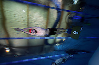 The first Norwegian freediving championship, held in Askinm, Norway..Eivind Kristoffersen swimming DYN 109 meters..© Fredrik Naumann/Felix Features