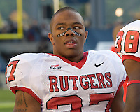 21 October 2006..Rutgers running back Ray Rice..The Rutgers Scarlet Knights defeated the Pitt Panthers 20-10 on October 21, 2006 at Heinz Field, Pittsburgh, Pennsylvania.