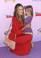 Alessandra Ambrosio and her daughter Anja - Los Angeles