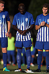 26 August 2016: Saint Louis's Akeem Richards (JAM). The Wake Forest University Demon Deacons hosted the Saint Louis University Billikens in a 2016 NCAA Division I Men's Soccer match. SLU won the game 1-0.