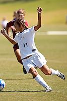SAN ANTONIO, TX - SEPTEMBER 23, 2007: The Iona College Gaels vs. University of Texas at The San Antonio Roadrunners Women's Soccer at the UTSA Soccer Field. (Photo by Jeff Huehn)