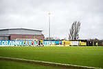Oxford United 1 Accrington Stanley 2, 20/02/2016. Kassam Stadium, League Two. Oxford's home ground is the Kassam Stadium in Oxford and has a capacity of 12,500. United moved to the stadium in 2001 after leaving the Manor Ground, their home for 76 years. Goalmouth action late in the game. Photo by Simon Gill.