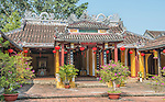 The Cam Pho Temple, also known as the Cam Pho Communal House, in Hoi An, Vietnam