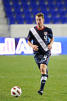 Nathan Smith (4) of the USA. The USMNT U-17 defeated New York Red Bulls U-18 4-1 during a friendly at Red Bull Arena in Harrison, NJ, on October 09, 2010.