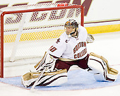 Chris Venti (BC - 30) - The Boston College Eagles defeated the visiting University of Toronto Varsity Blues 8-0 in an exhibition game on Sunday afternoon, October 3, 2010, at Conte Forum in Chestnut Hill, MA.
