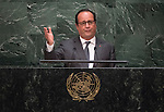 Address by His Excellency François Hollande, President of the French Republic