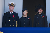 Catherine, Duchess Of Cambridge attends Remembrance Service