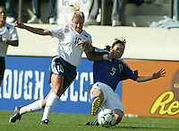 USWNT vs Japan, January 12, 2003