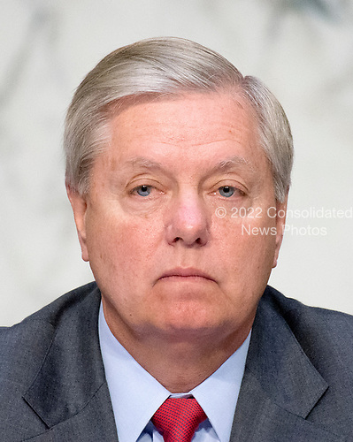 United States Senator Lindsey Graham (Republican of South Carolina) listens to testimony before the US Senate Committee on the Judiciary Subcommittee on Crime and Terrorism hearing titled &ldquo;Russian Interference in the 2016 United States Election&rdquo; on Capitol Hill in Washington, DC on Monday, May 8, 2017.<br /> Credit: Ron Sachs / CNP<br /> (RESTRICTION: NO New York or New Jersey Newspapers or newspapers within a 75 mile radius of New York City)
