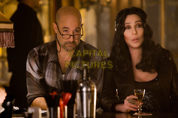 STANLEY TUCCI & CHER.in Burlesque.*Filmstill - Editorial Use Only*.CAP/FB.Supplied by Capital Pictures.