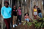 Freedom Hall portraits in Fort Myers, Fla. James Klynn, Passion Ward, Josh Giha, Rossini Morrisma, Maeva Kem, Jeremy Evans