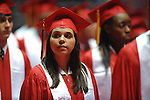 "Lafayette High's graduation ceremony  at the C.M. ""Tad"" SMith Coliseum at the University of Mississippi on Friday, May 20, 2011."