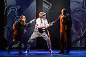 "London, UK. 04.05.2016. ZooNation Dance Company  present ""Into the Hoods: Remixed"" at the Peacock Theatre. Picture shows:  Jenai Mason-Smith (Lost Kid), Andry Oporia (Landlord), Tyreese Remy-Henderson (Lost Kid). Photograph © Jane Hobson."