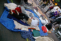 Protester sleeps at the Occupy Wall Street Protest in New York City October 6, 2011.