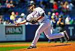 7 March 2009: New York Mets' pitcher Darren O'Day on the mound during a Spring Training game against the Washington Nationals at Tradition Field in Port St. Lucie, Florida. The Nationals defeated the Mets 7-5 in the Grapefruit League matchup. Mandatory Photo Credit: Ed Wolfstein Photo