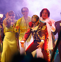 Juan Gabriel in concert at the Fox Center in San Francisco del Rincón. Leon Guanajuato. México . June 1, 2012. Photo: Tirador Tercero/NortePhoto/MediaPunch Inc. ***No Mexico*** *** No Spain***