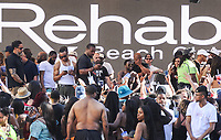 LAS VEGAS, NV - APRIL 30: ***HOUSE COVERAGE** Kevin Hart at REHAB Beach Club at The Hard Rock Hotel & Casino in LAs Vegas, Nevada on April 30, 2017. Credit: GDP Photos/MediaPunch