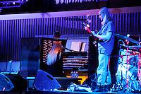 AUG 21 Anna von Hausswolff performing at David Byrne's Meltdown Festival