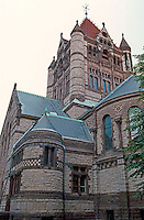 Henry Hobson Richardson: Trinity Church, Boston. Apse & Central Tower.
