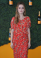 BEVERLY HILLS - OCTOBER 15:   Zoey Deutch at the 7th Annual Veuve Clicquot Polo Classic at Will Rogers State Historic Park on October 15, 2016 in Pacific Palisades, California. Credit: mpi991/MediaPunch