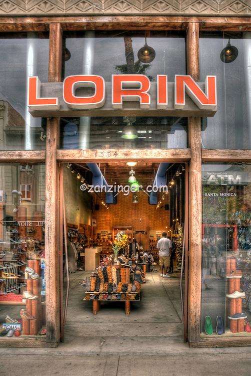 Lorin, eco-friendly shoe Store, Third Street Promenade, Downtown