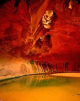 Golden  Cathedral, Glen Canyon National Recreation Area, Utah     Escalante River