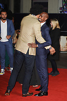 LONDON, UK. November 28, 2016: David Haye &amp; Mo Farah at the &quot;I Am Bolt&quot; World Premiere at the Odeon Leicester Square, London.<br /> Picture: Steve Vas/Featureflash/SilverHub 0208 004 5359/ 07711 972644 Editors@silverhubmedia.com