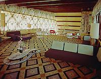 Satellite Motel, Wildwood, NJ Upstairs Lobby - 1965