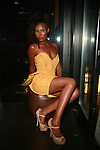 Karen Backstage at SACHIKA TWINS Present REVE BOUTIQUE FASHION SHOW at The Skyroom, NY 8/2/11