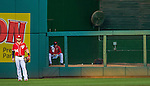 19 September 2015: Washington Nationals outfielder Anthony Rendon stands in the outfield during a game against the Miami Marlins at Nationals Park in Washington, DC. The Nationals defeated the Marlins 5-2 in the third game of their 4-game series. Mandatory Credit: Ed Wolfstein Photo *** RAW (NEF) Image File Available ***