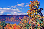 Fall on the Hudson River from Westchester Looking on the Palisades
