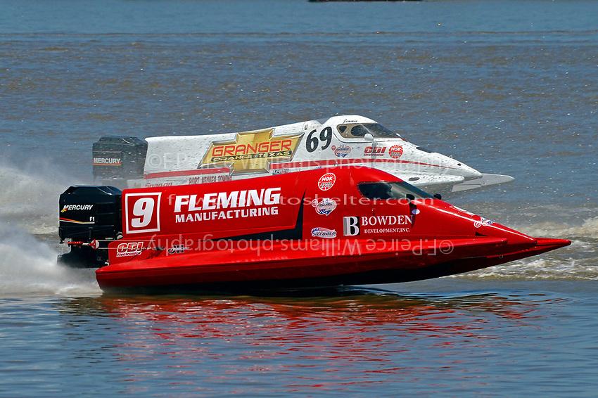 Johnny Fleming (#9) and Jimmie Merleau (#69)           (Formula 1/F1/Champ class)