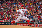 7 April 2016: Washington Nationals starting pitcher Tanner Roark on the mound against the Miami Marlins during the Nationals' Home Opening Game at Nationals Park in Washington, DC. The Marlins defeated the Nationals 6-4 in their first meeting of the 2016 MLB season. Mandatory Credit: Ed Wolfstein Photo *** RAW (NEF) Image File Available ***